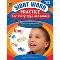 Teacher Created Resources® Sight Word Practice Learner Book, Grades Kindergarten - 1st