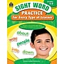 Teacher Created Resources Sight Word Practice Learner Book,