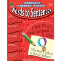 Teacher Created Resources® Building Writing Skills Words to Sentences Book, Grades 1st - 2nd