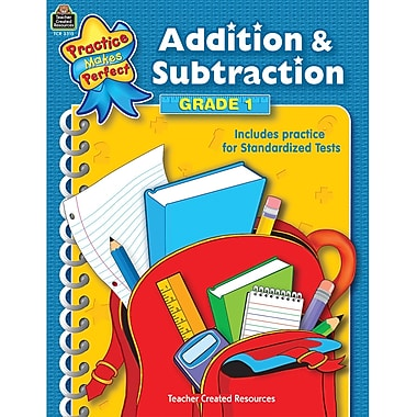 Teacher Created Resources® Addition & Subtraction Book, Grades 1st
