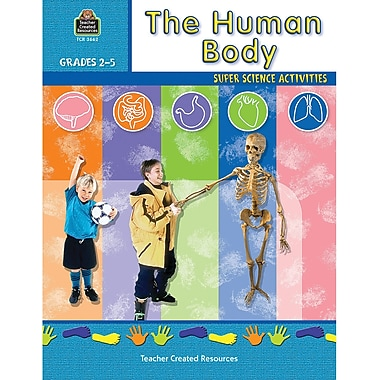 Teacher Created Resources The Human Body Workbook, Grades 2nd - 5th