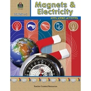 Teacher Created Resources Super Science Activities Magnets and Electricity Book, Grades 2nd - 5th