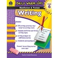 Teacher Created Resources® Daily Warm Ups Nonfiction and Fiction Writing Book, Grades 6th
