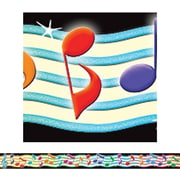 Teacher Created Resources® preschool - 12th Grades Straight Border Trim, Musical Notes