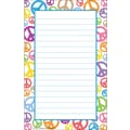 Teacher Created Resources® Peace Signs Notepad