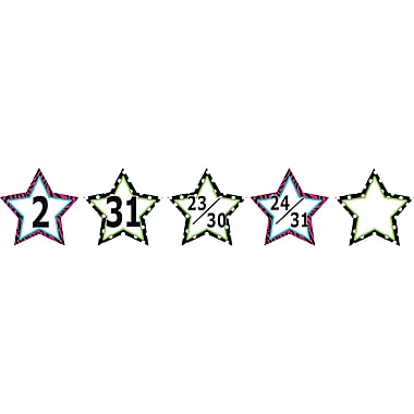 Teacher Created Resources® Calendar Days, Fancy Stars