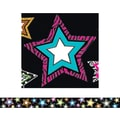 Teacher Created Resources® Toddler - 12th Grades Straight Border Trim, Fancy Stars