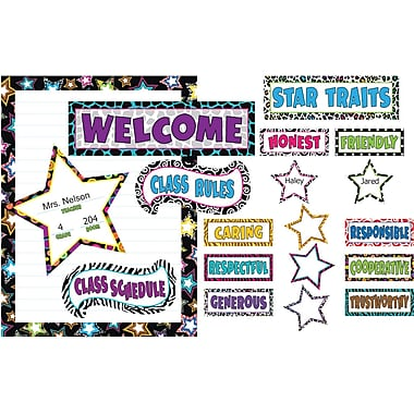 Teacher Created Resources® Bulletin Board Display Set, Fancy Stars