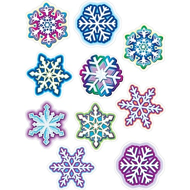 Teacher Created Resources® Infant- 12th Grades Accents, Snowflakes