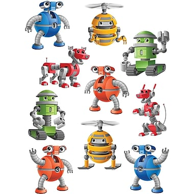 Teacher Created Resources® Toddler - 6th Grades Accents, Robots