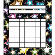 "Teacher Created Resources® Fancy Stars Incentive Chart, 5 1/4"" x 6"""