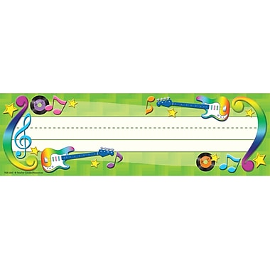 Teacher Created Resources® Infant - 6th Grades Name Plate, School Rocks