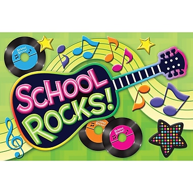Teacher Created Resources® School Rocks Postcard