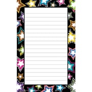 "Teacher Created Resources Notepad 8"" x 5"", Black/White (TCR5270)"