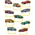 Teacher Created Resources® Infant - 6th Grades Mini Accents, Race Cars