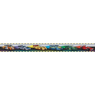 Teacher Created Resources® Infant - 6th Grades Straight Border Trim, Race Cars