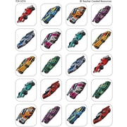 Teacher Created Resources® Stickers, Race Cars