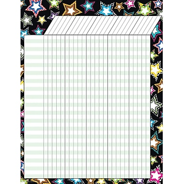 Teacher Created Resources® Fancy Stars Incentive Chart, 17