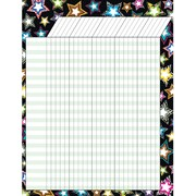 "Teacher Created Resources® Fancy Stars Incentive Chart, 17"" x 22"""