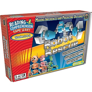 Teacher Created Resources® Robot Rescue Game, Grades 2nd - 3rd