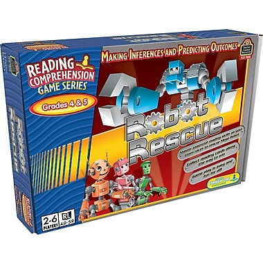 Teacher Created Resources® Robot Rescue Game, Grades 4th - 5th