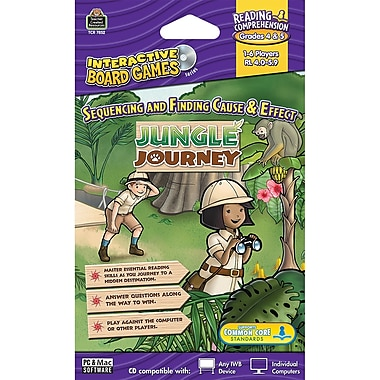 Teacher Created Resources® Jungle Journey Computer Game CD, Grades 4th - 5th