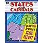 Teacher Created Resources States and Capitals Work Book,