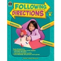 Teacher Created Resources Following Directions Book, Grades Kindergarten