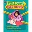 Teacher Created Resources Following Directions Book, Grades Kindergarten