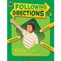 Teacher Created Resources Following Directions Book, Grades 4th