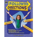 Teacher Created Resources Following Directions Book, Grades 5th