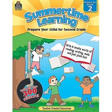 Teacher Created Resources® Summertime Learning Book, Grades 2nd