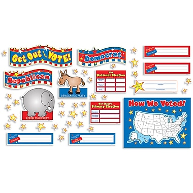 Teacher's Friend® Bulletin Board Set, Get Out the Vote