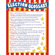 Teacher's Friend® Chart, Election Glossary