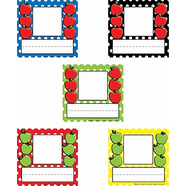 Top Notch Teacher Products® Infant - 6th Grades Picture Plate, Assorted Polka Dot