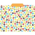 Top Notch Teacher Products® File Folder, Paw Prints