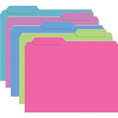 Top Notch Teacher Products® Brite Galactic Assorted Mini File Folder
