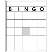 Top Notch Teacher Products® Blank Bingo Card