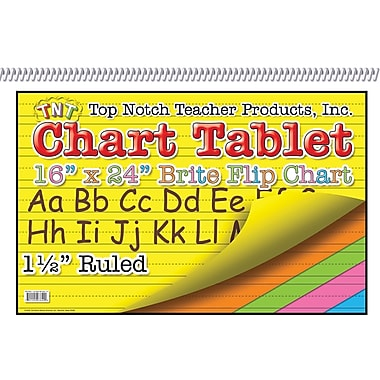 Top Notch Teacher Products® 16in. x 24in. Chart Tablet