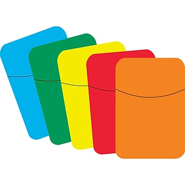 Top Notch Teacher Products® Little Pocket, Primary Colors