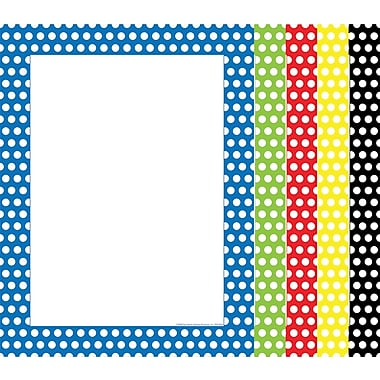 Top Notch Teacher Products® 8 1/2in. x 11in. Computer Paper, Polka Dots