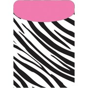 Top Notch Teacher Products® Zebra/Pink Peel and Stick Brite Pocket, 35/Pack