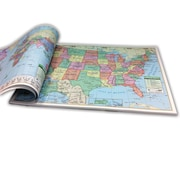 "Kappa Map Group/Universal Maps U.S./World Combo Study Pad, 12""(H)"
