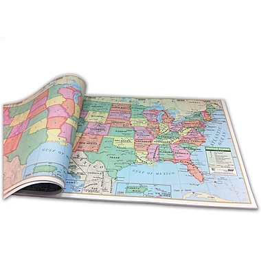 Kappa Map Group/Universal Maps USA Study Pad, 18in.(W)