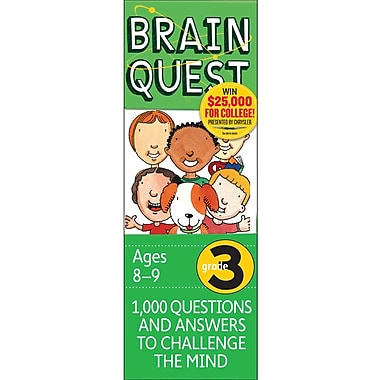 Workman Publishing Brain Quest Book, Grades 3rd