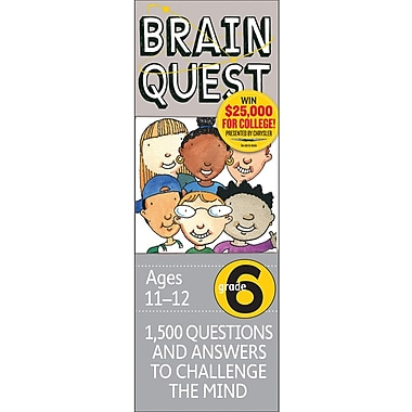 Workman Publishing Brain Quest Book, Grades 6th