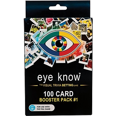 Wiggles 3D Eye Know™ Game, 100 Cards Booster Pack