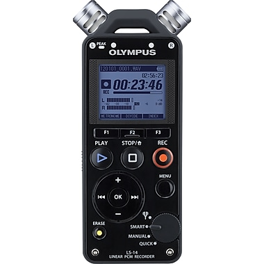 Olympus® LS-14 Linear PCM Digital Voice Recorder