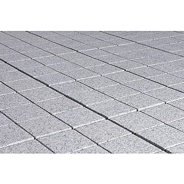 Kontiki Interlocking 11 3/4in. x 11 3/4in. Granite Tile, Bright Gray