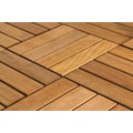 FlexDeck 12in. x 12in. Wood Deck Tile, Copacabana Itauba